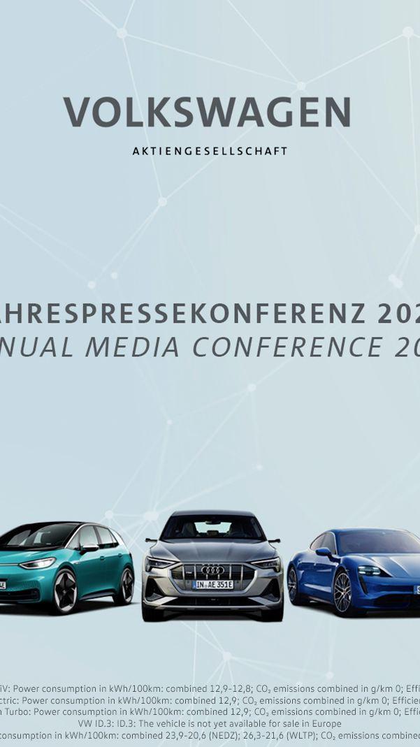 Coroczna konferencja prasowa koncernu Volkswagen