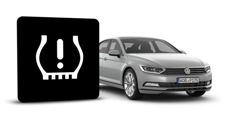 Automatisk kontrollsystem for dekktrykk i Volkswagens biler
