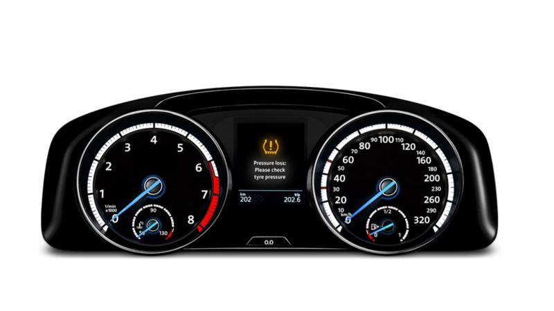 Volkswagen automatisk dekktrykkontroll