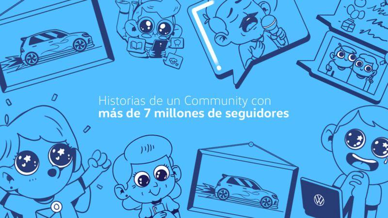 Conoce las historias de Volkswagen en redes sociales por el día de community manager