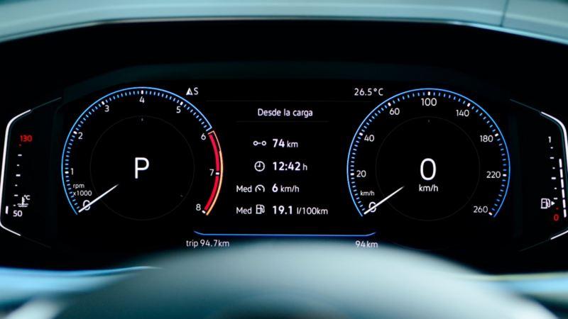 Digital Cockpit de nuevo T-Cross de Volkswagen