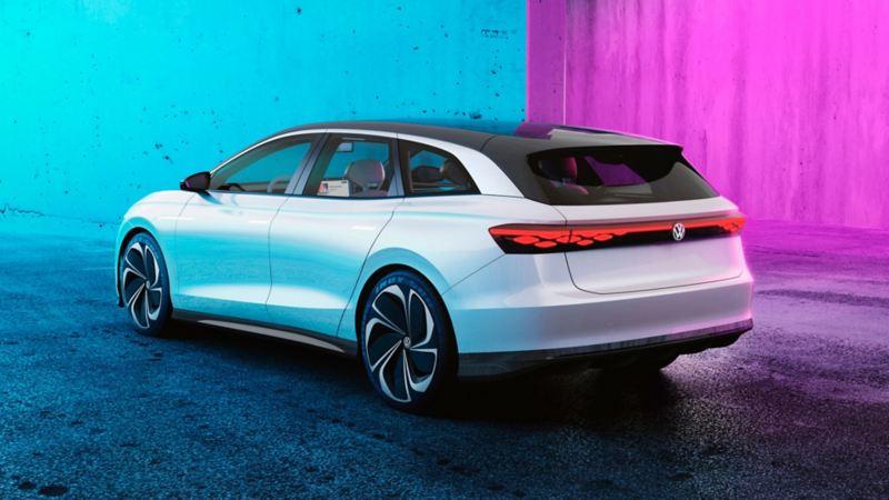 Diseño exterior del auto concepto eléctrico ID. SPACE VIZZION de Volkswagen