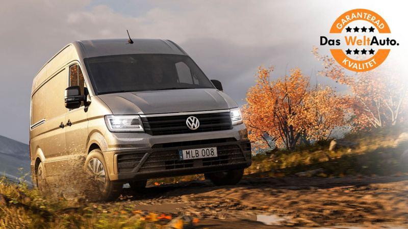 Begagnade, kvalitetskontrollerade Volkswagen transportbilar med garanti och bytesrätt hos Das WeltAuto