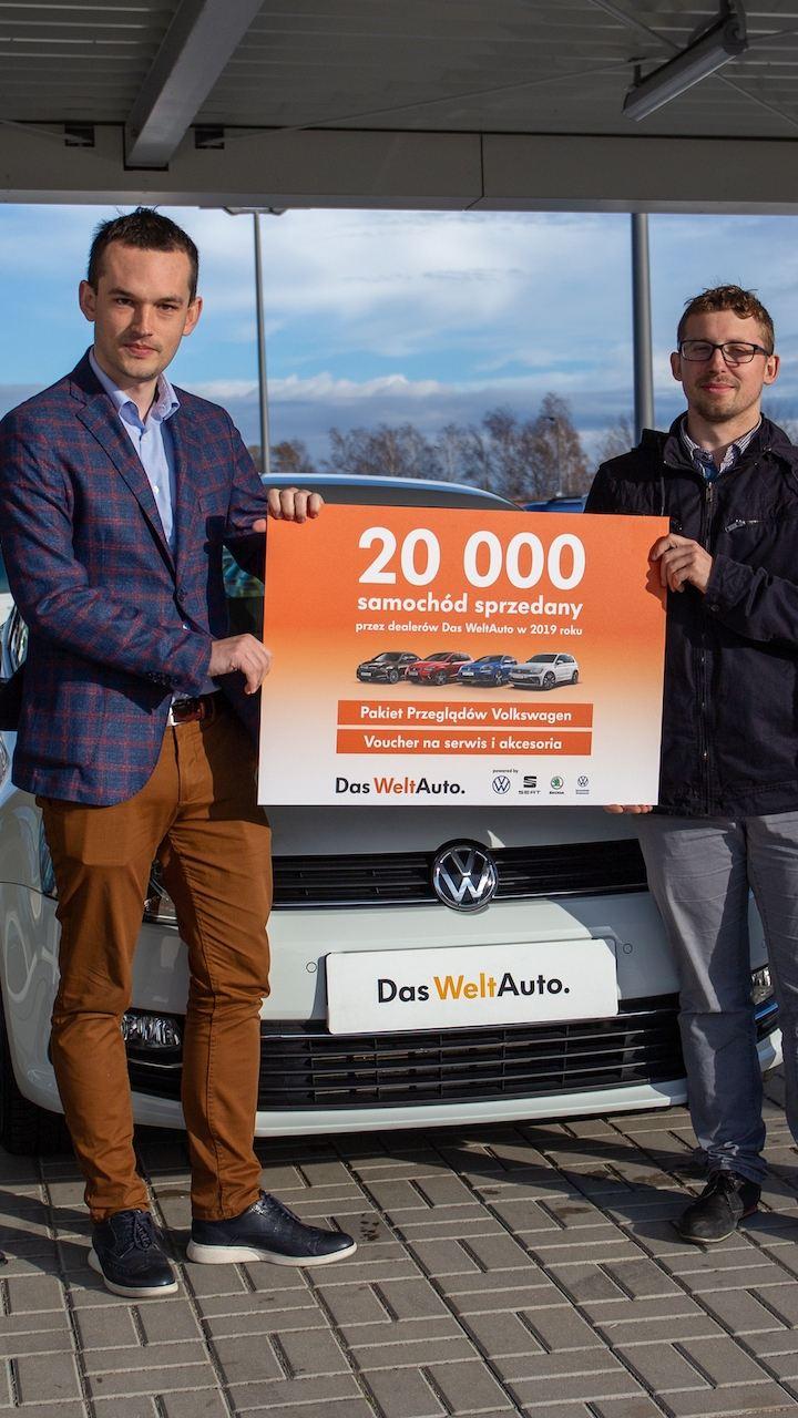 W 2019 roku dilerzy Das WeltAuto sprzedali już 20 tysięcy używanych, sprawdzonych samochodów