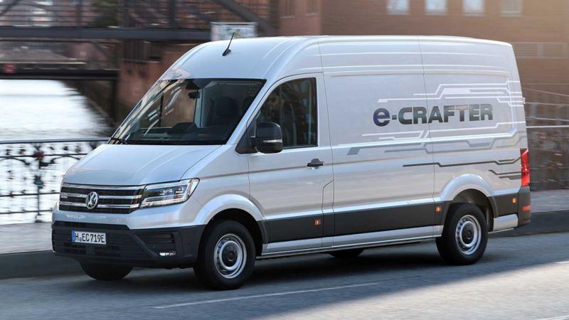 vw Volkswagen e-Crafter el varebil elektrisk varebil elbil elvarebil miljøvennlig grønn budbil bud