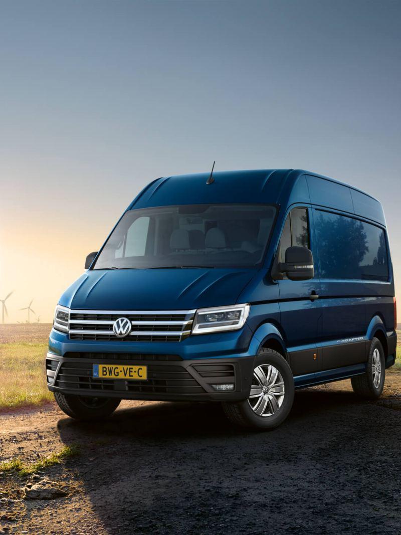 Elektrische bedrijfswagen van Volkswagen