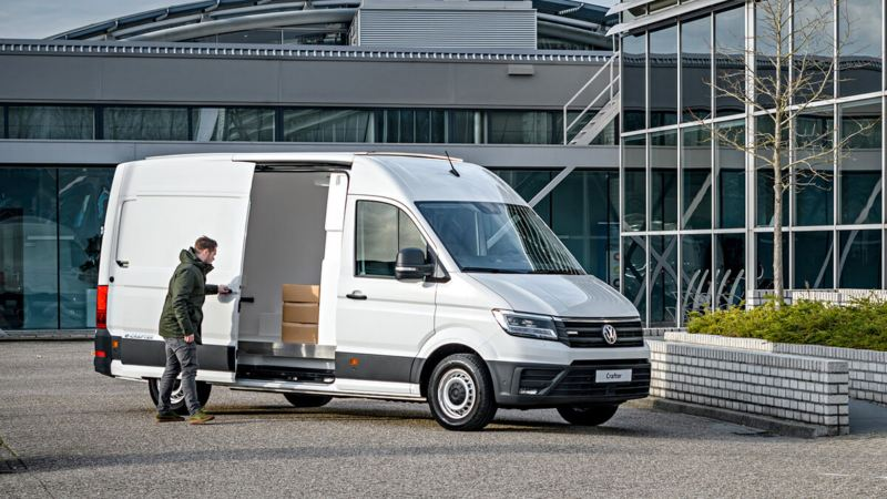 e-Crafter Solar koelwagen: rijdt én koelt elektrisch