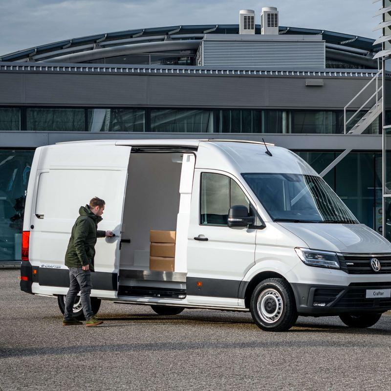 e-Crafter Solar koelwagen