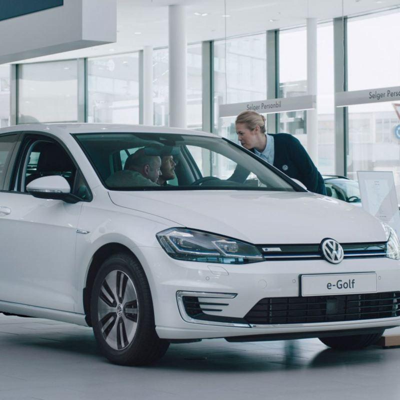 Volkswagen e-Golf elbil gjerrigknark film