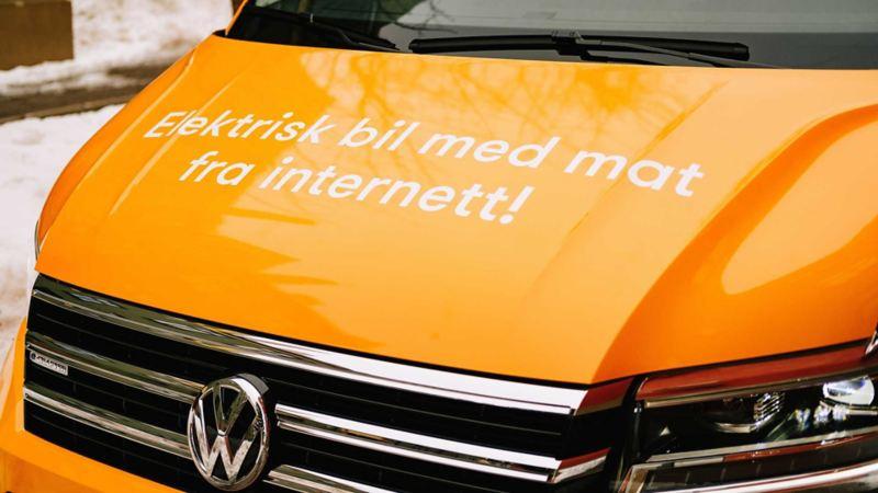 Kolonial.no kjøper inn e-Crafter el varebil til levering av matvarer helt utslippsfritt