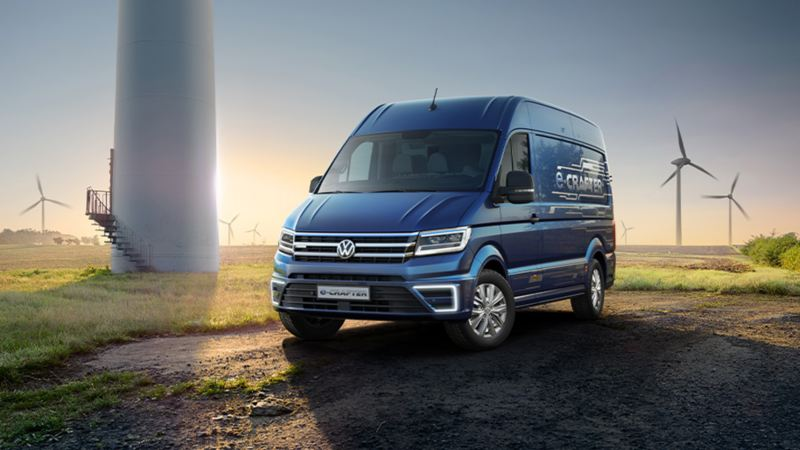 VW e-Crafter elektrisk varebil el varebil e-mobility