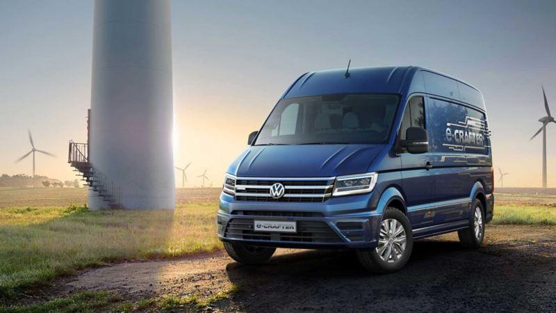 vw Volkswagen e-Crafter el varebil elektrisk varebil elbil elvarebil