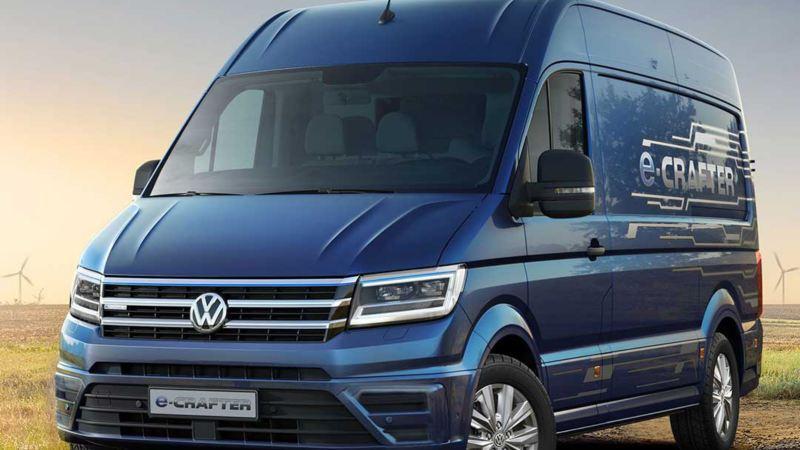 vw Volkswagen e-Crafter el varebil elektrisk varebil elbil elvarebil Enova støtte klimarabatt nullutslippsfondet