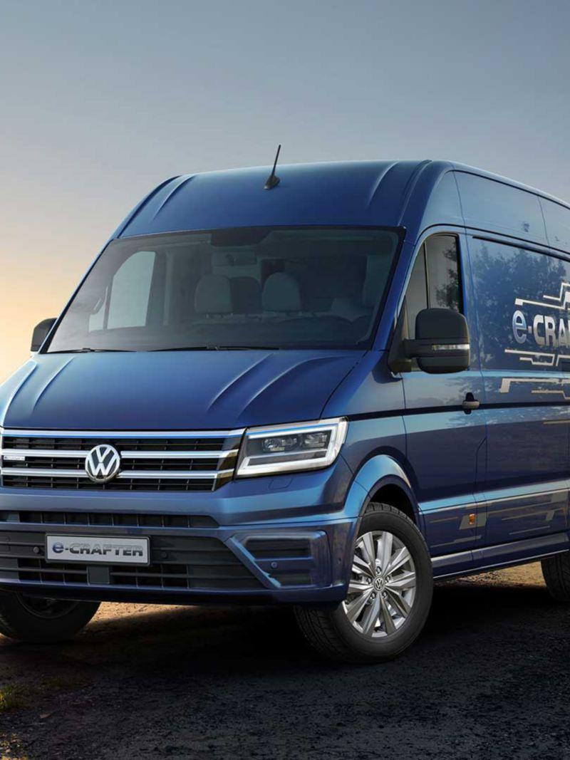 vw Volkswagen e-Crafter el varebil elektrisk varebil elbil elvarebil vindmøller fornybar energi
