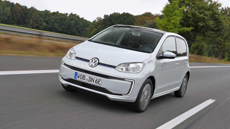 Volkswagen e-up! range