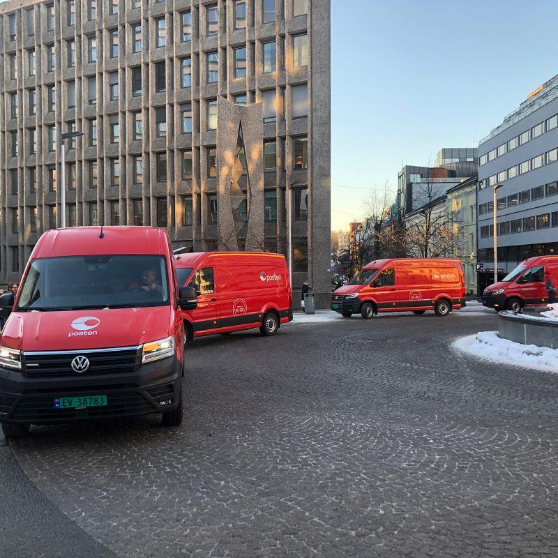 vw Volkswagen e-Crafter første norske kunde