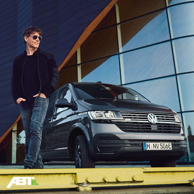 Morten Harket Chanteur du Groupe a-ha ABT Caravelle Volkswagen