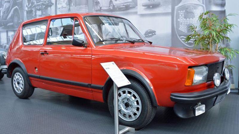 EA 276 de VW - La primera versión de Golf expuesto en el Museo Volkswagen