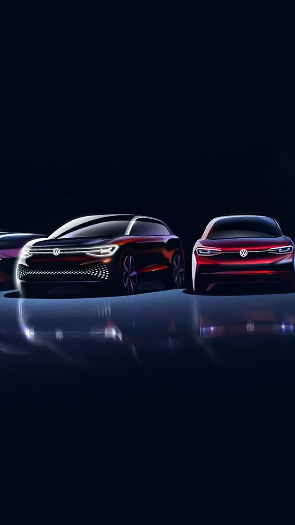 VW electric car family