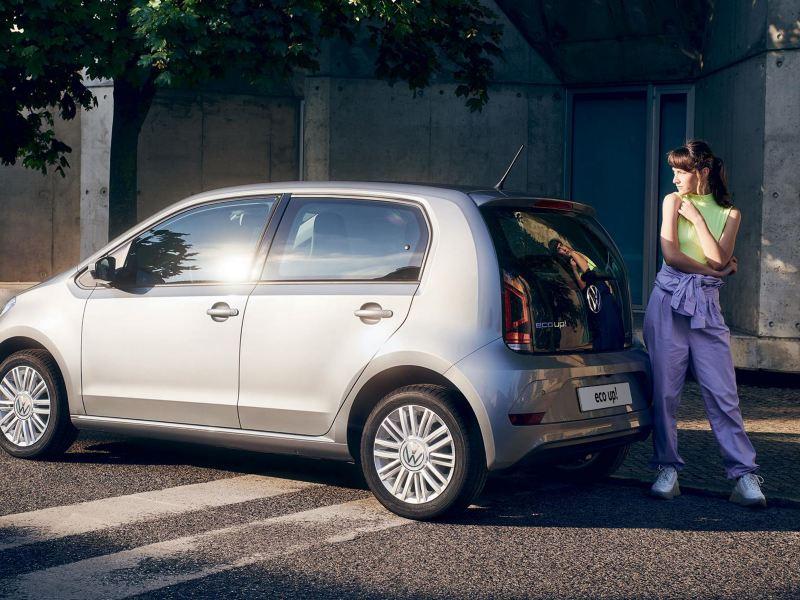 Nuova eco up! Volkswagen parcheggiata in città