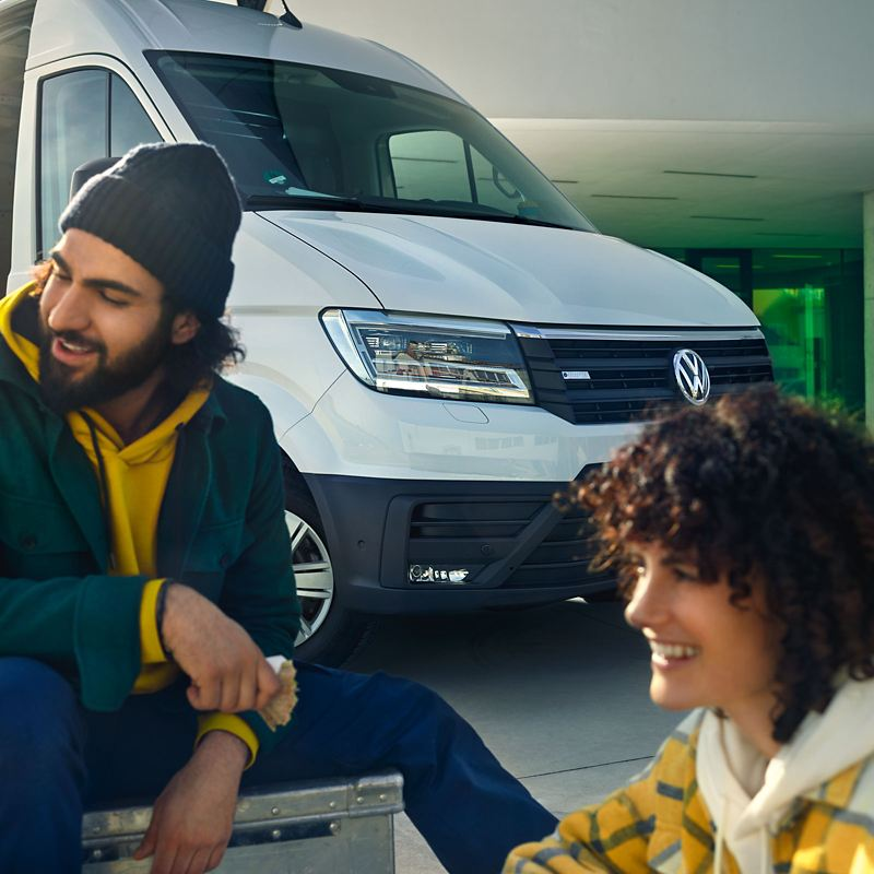 Volkswagen Véhicules Utilitaires e-crafter 2 personnes
