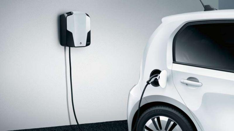 e-up en train de se recharger