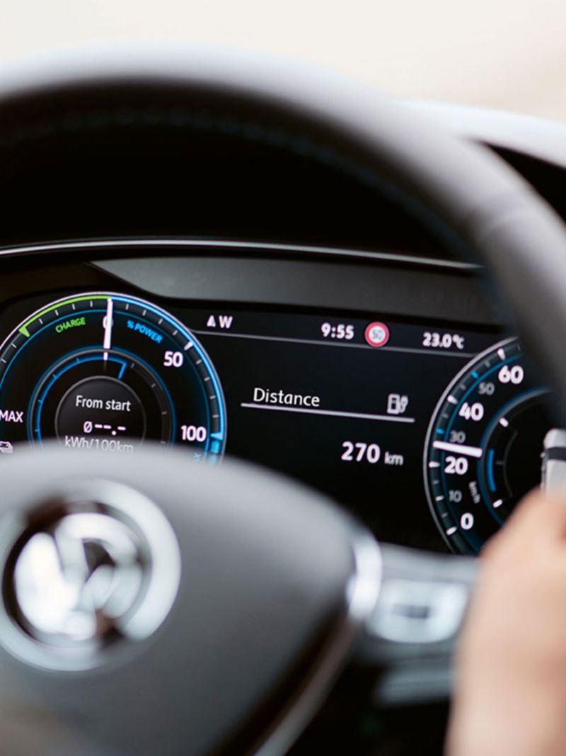 Cockpit numérique en action dans la e-Golf