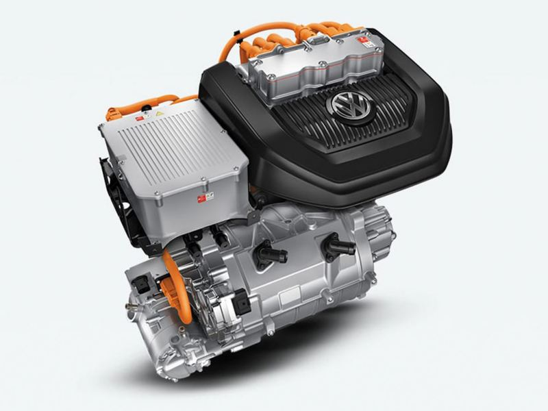 The electric engine of the e-golf