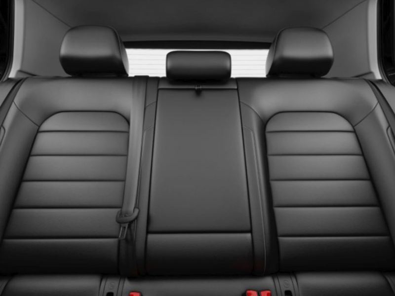 Rear seats of the e-Golf