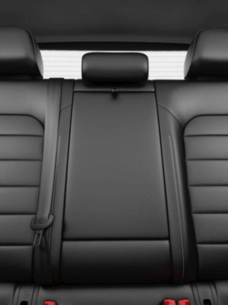 Rear seats of the e-Golf