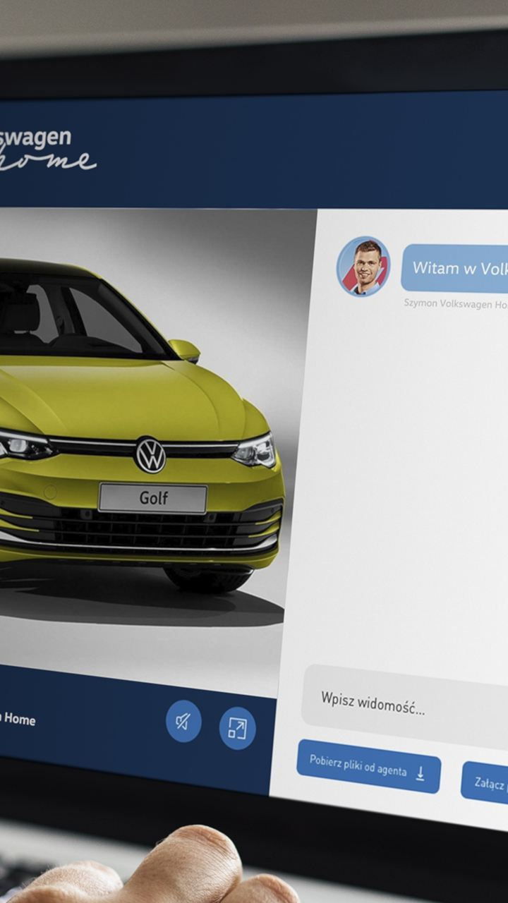 Volkswagen e-Home oferuje najwyższy poziom obsługi bez wychodzenia z domu