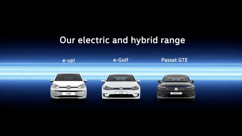 Image of electric and hybrid cars