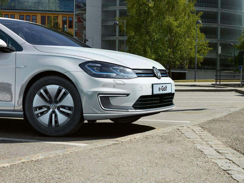 Front of the egolf