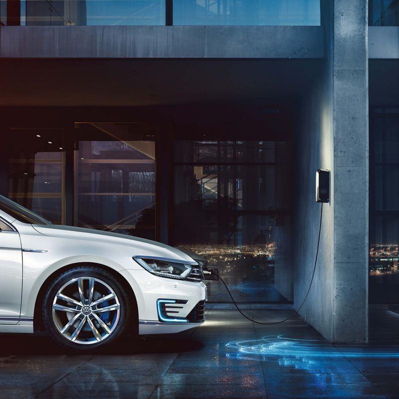 Volkswagen electric car charging