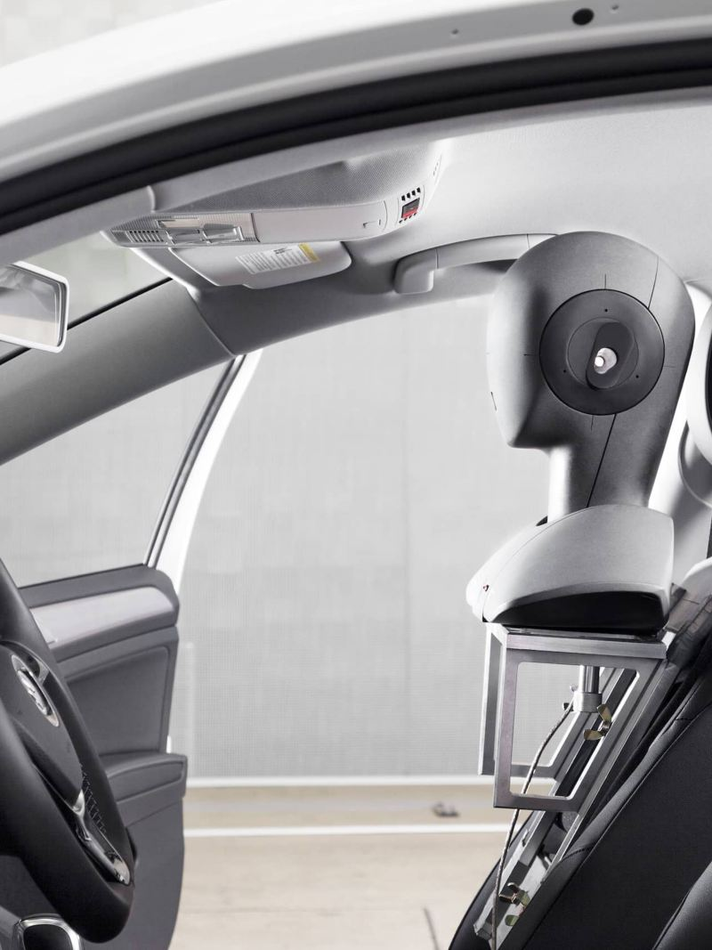 Stereo sound recording in a Volkswagen