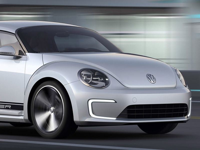 The Volkswagen E-Bugster.