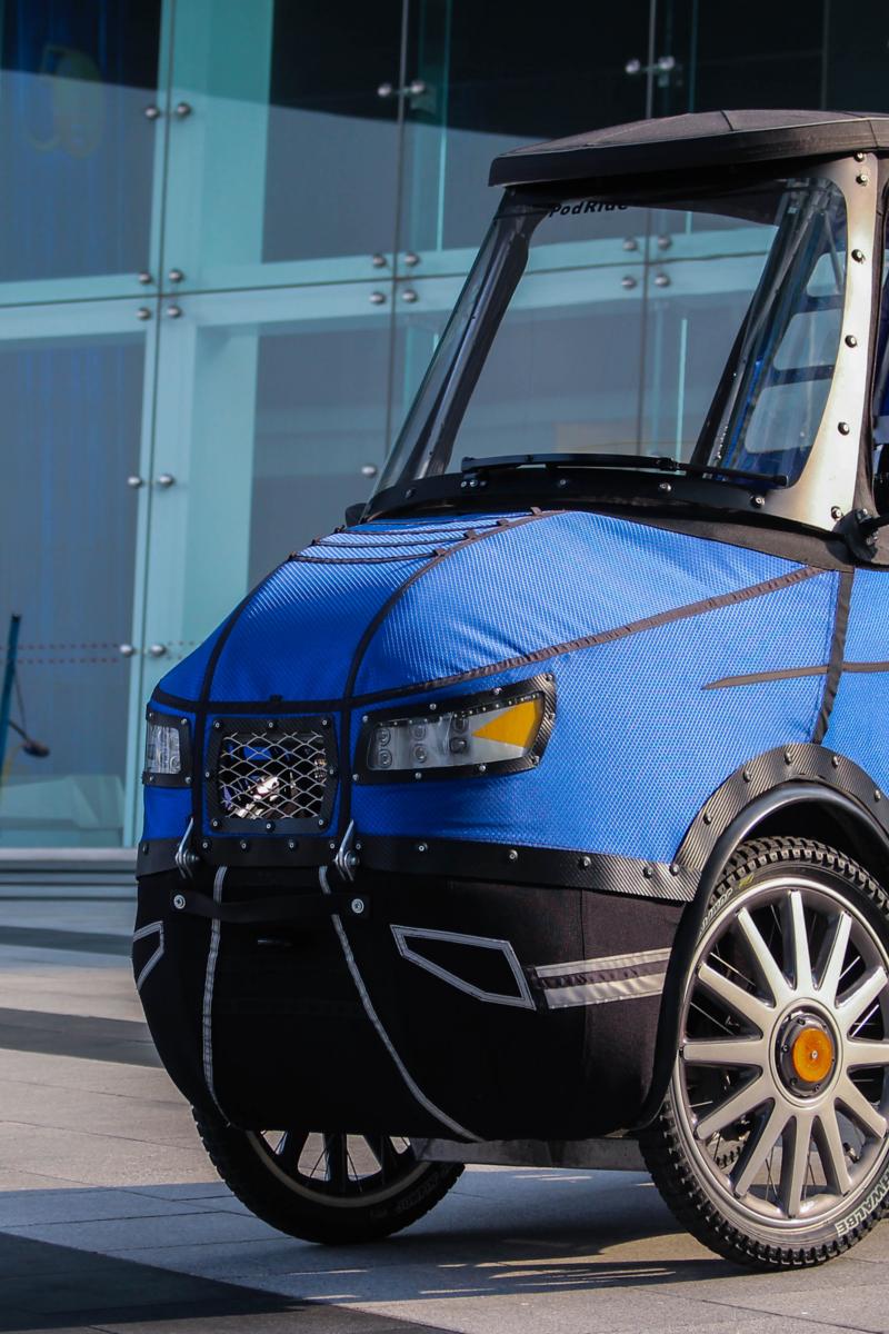 "The ""PodRide"": half electric vehicle, half e-bike"