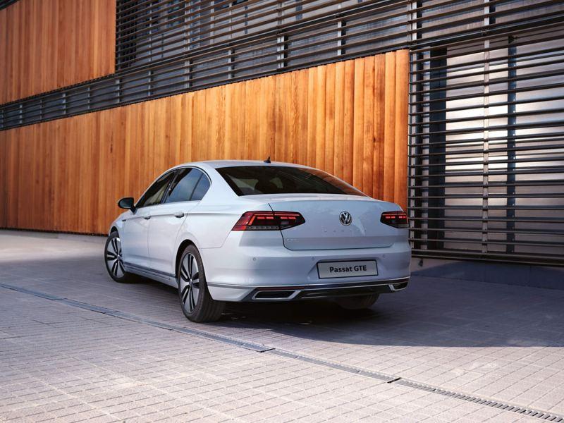 Action shot of the Volkswagen Passat GTE