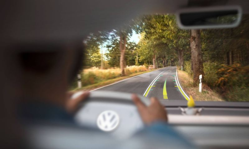 Augmented driving in motion