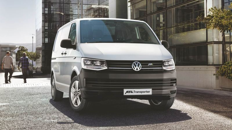 VW e-Transporter electric van
