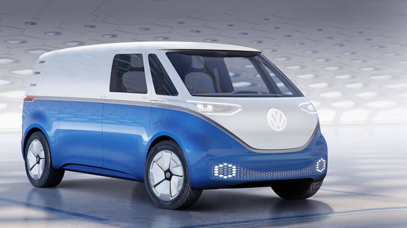 VW ID. BUZZ Cargo electric van concept
