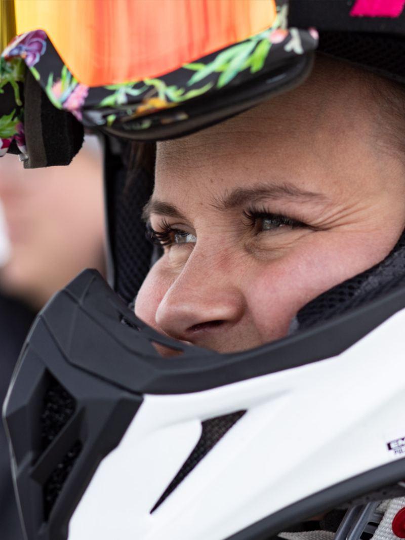 Elvira Lindh: full koncentration inför start
