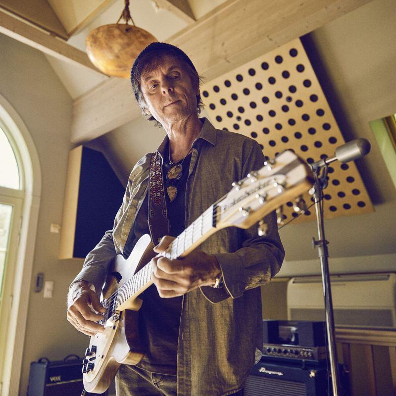 Guitariste du groupe a-ha Pål Waaktaar-Savoy