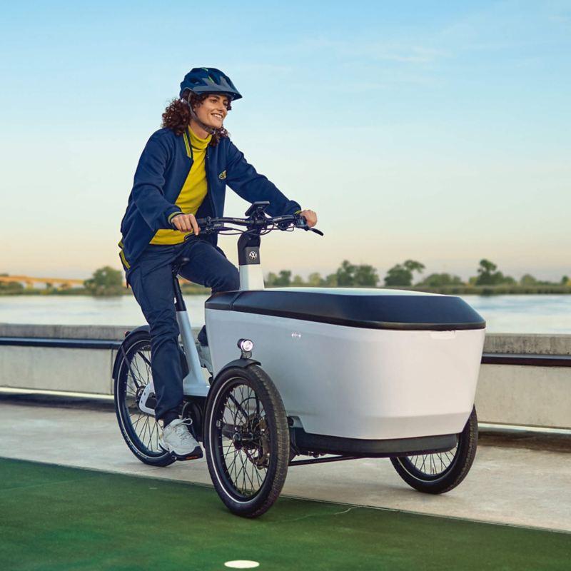 Das e-Bike Cargo von Volkswagen Nutzfahrzeuge.