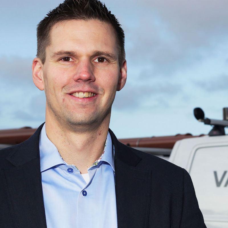 Erik Nolberger, fordonschef på Vattenfall Services