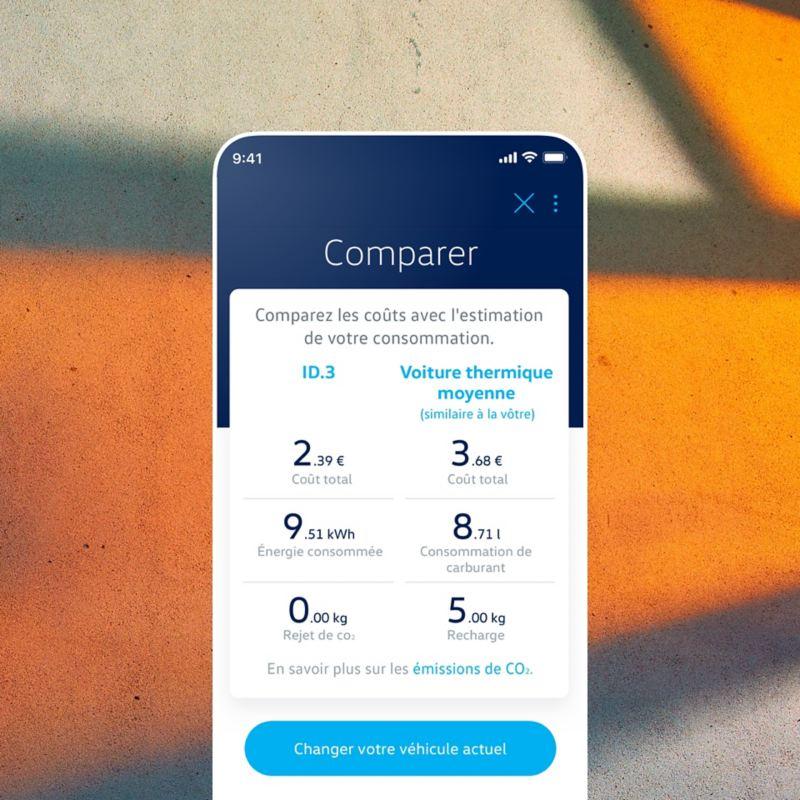 Comparez votre profil avec l'appli EV Check