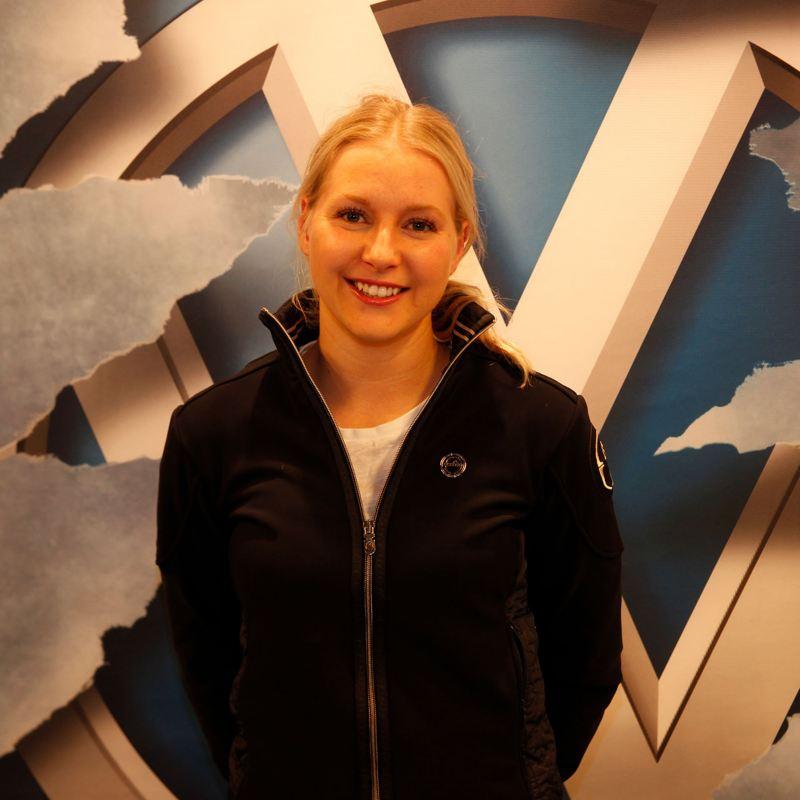 DET SENASTE STJÄRNSKOTTET inom ridsport Evelina Tovek deltog på Friends Arena.