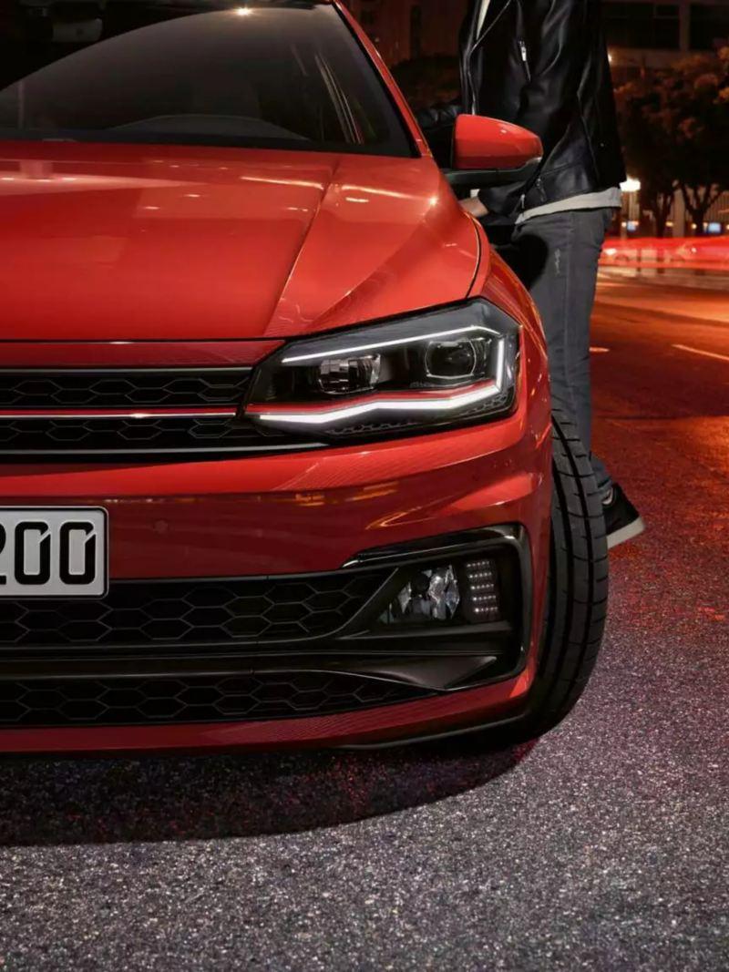 Face avant Polo GTI