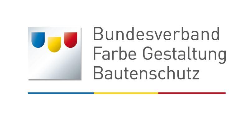 Das Logo des Bundesverbands für Farbe, Gestaltung und Bautenschutz.