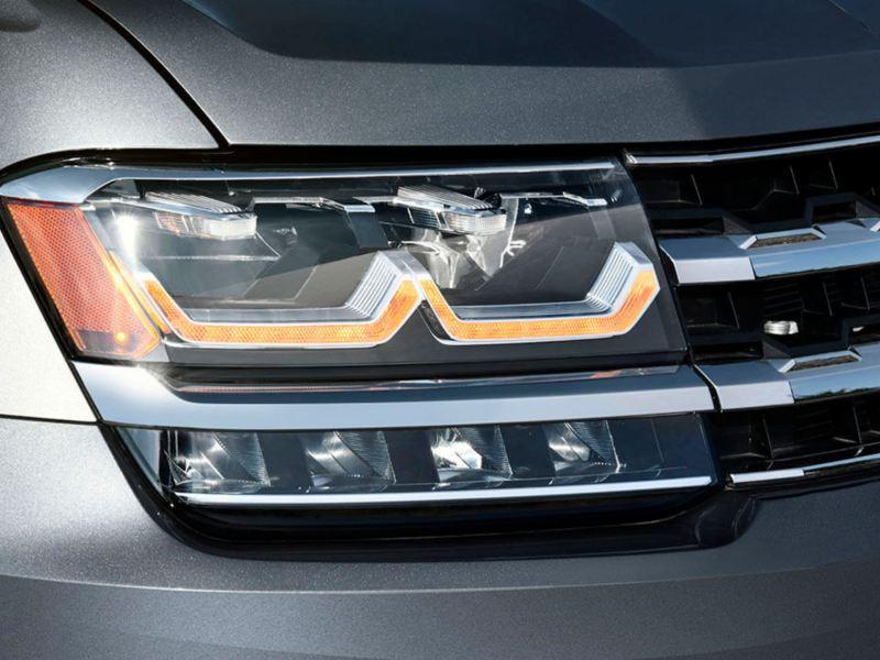 Faros con tecnología LED equipados en Teramont 2019 SUV de Volkswagen
